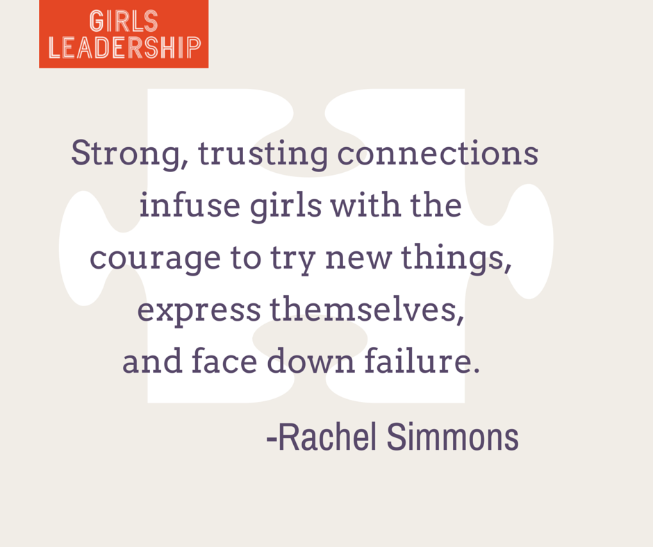 Courage quote by Rachel Simmons