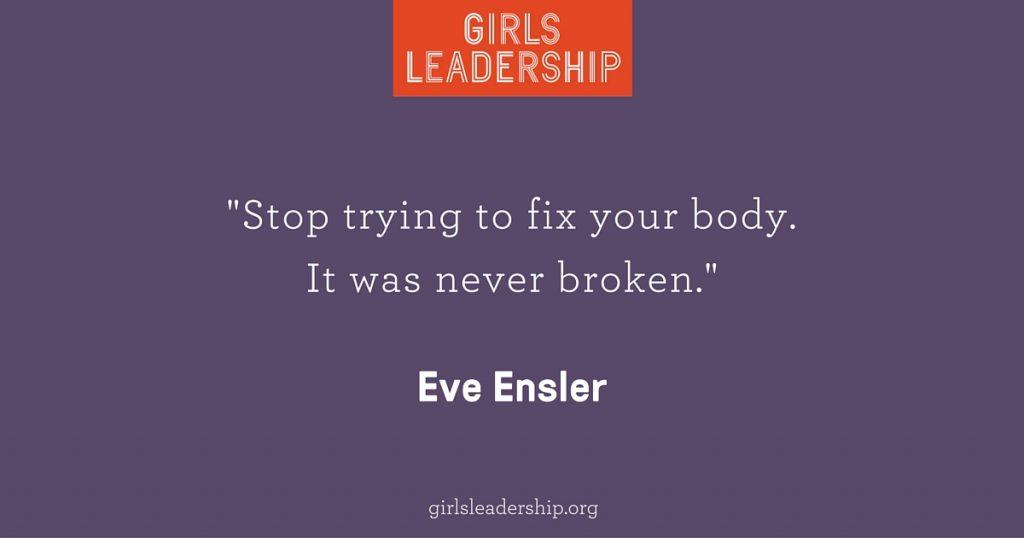 Even Ensler Never Broken