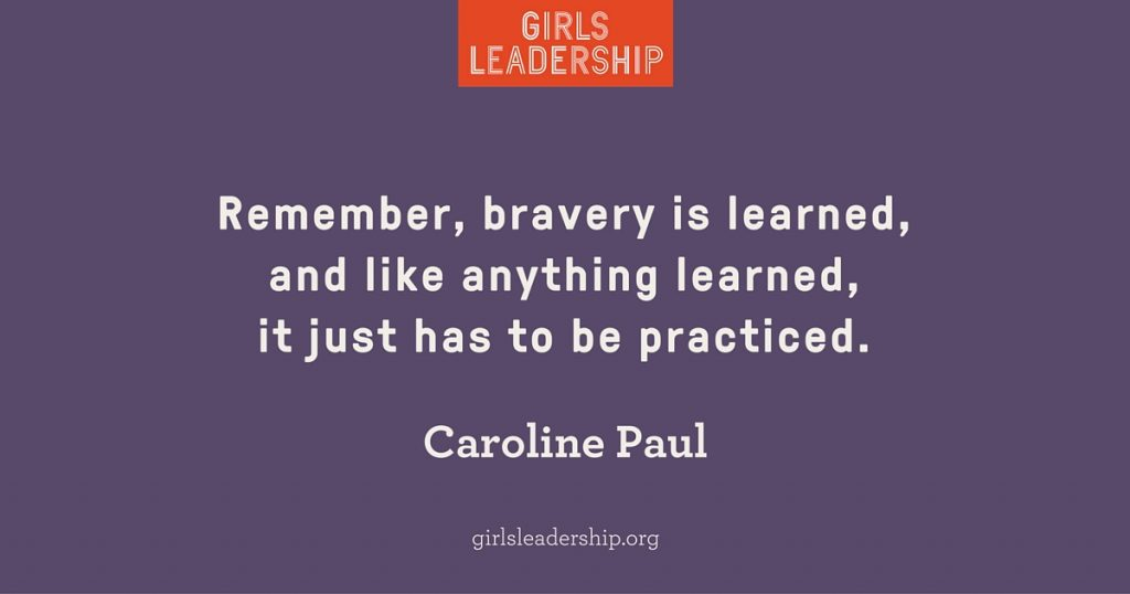 Caroline Paul quote on bravery