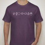 purple How We Lead t-shirt