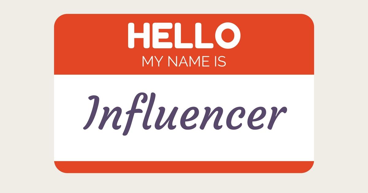 Influencer Name Tag