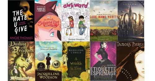 girl power reading list for middle school