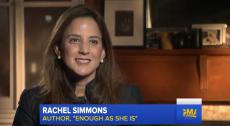 Rachel Simmons on Good Morning America