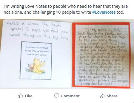 Love Note Social Post