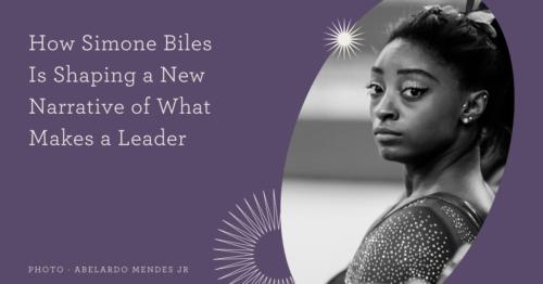 Simone Biles Leadership