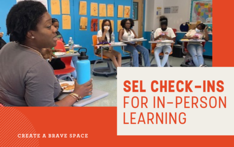 SEL Check-ins for In-Person Learning Image
